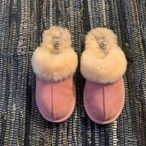 Ugg Suede Slip-On Slippers (Youth)